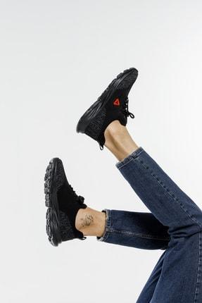 LETOON Unisex Siyah Spor Ayakkabı Teek01 1