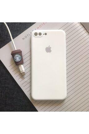 SUPPO Iphone 7 Plus Ve 8 Plus Modellere Uyumlu, Logolu Lansman Kılıf Kablo Koruyucu 0