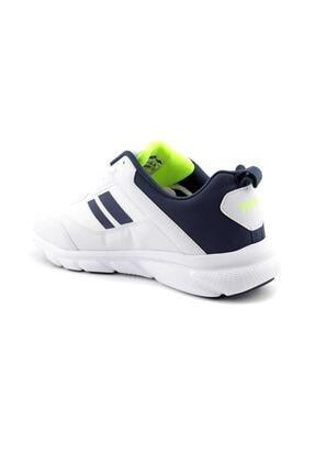 Jump 24718 Beyaz - Lacivert - Neon Yeşil Erkek Spor Ayakkabı 2