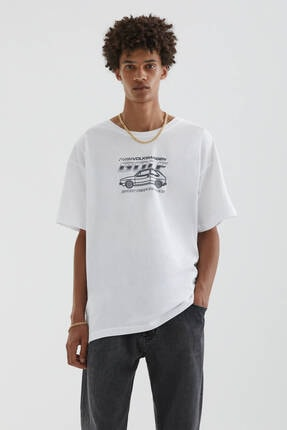 Picture of Beyaz Volkswagen Golf Gtı T-shirt