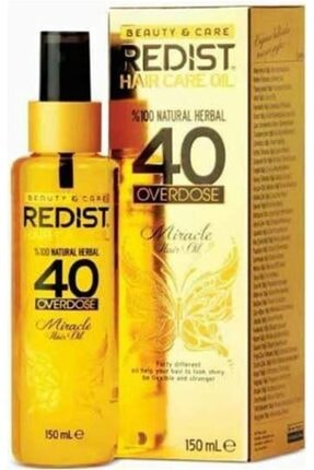 Redist 40 Bitkili Saç Bakım Yağı 150 ml 0