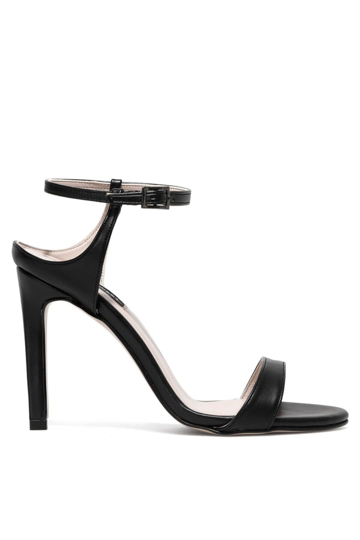 Hellema 1fx Siyah Kadın Topuklu Ayakkabı