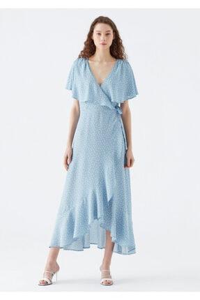 Mavi Anvelop Elbise 2