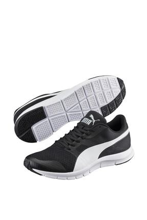 Puma FLEXRACER Siyah BEYAZ Erkek Sneaker 100215348 0