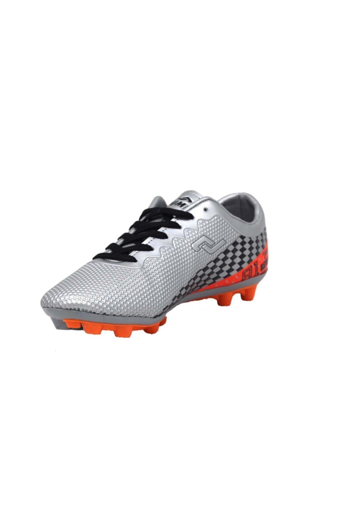 Erkek Gri Futbol Krampon Ayakkabı 25852