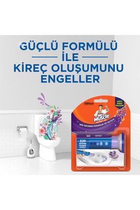 Mr. Muscle Mr Muscle Klozet Jel Blok, Tuvalet Temizleyici, Lavanta, 36g 2