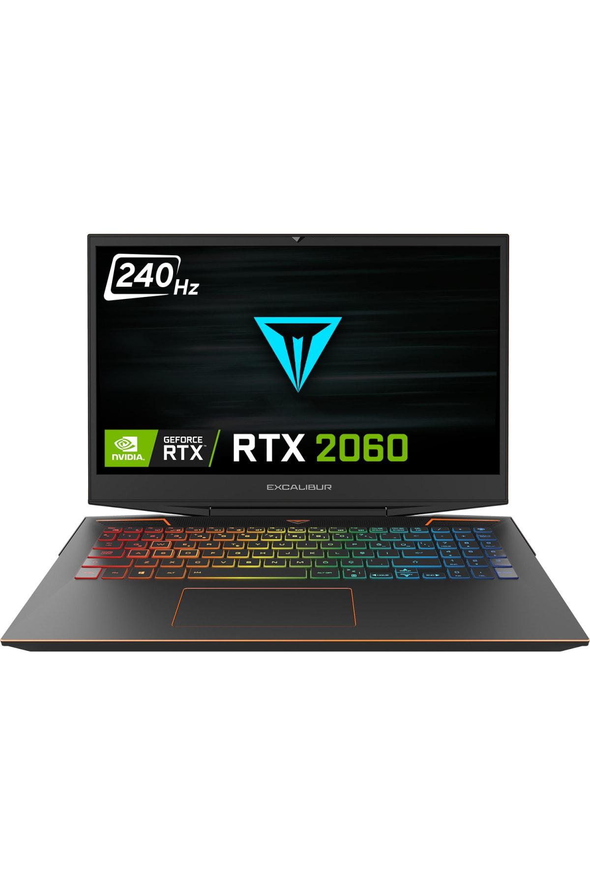 Excalibur G900.1075-bv60x-d Intel 10.nesil I7-10750h 16gb Ram 500gb Nvme Ssd 6gb Rtx2060 Dos