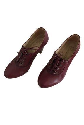 Bağcıklı Topuklu Ayakkabı TK1135