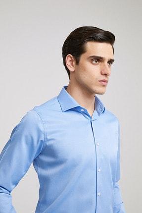 D'S Damat Erkek Slim Fit Gömlek Mavi 2HF02ORT4185_703 1