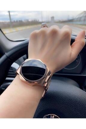 Ricardo Unisex Çelik Dokunmatik Led Rolex Model Kol Saati 0