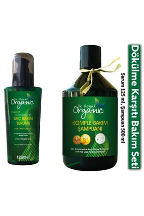 drroyalorganic Saç Dökülmelerine Karşı Bitkisel Şampuan Ve Bakım Serumu 0