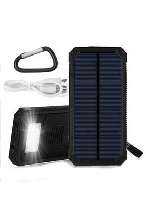 Angel Eye 12.000 Mah Solar Güneş Enerjili Powerbank Kamp Tipi Led El Feneri 1