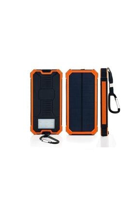 Angel Eye 12.000 Mah Solar Güneş Enerjili Powerbank Kamp Tipi Led El Feneri 4