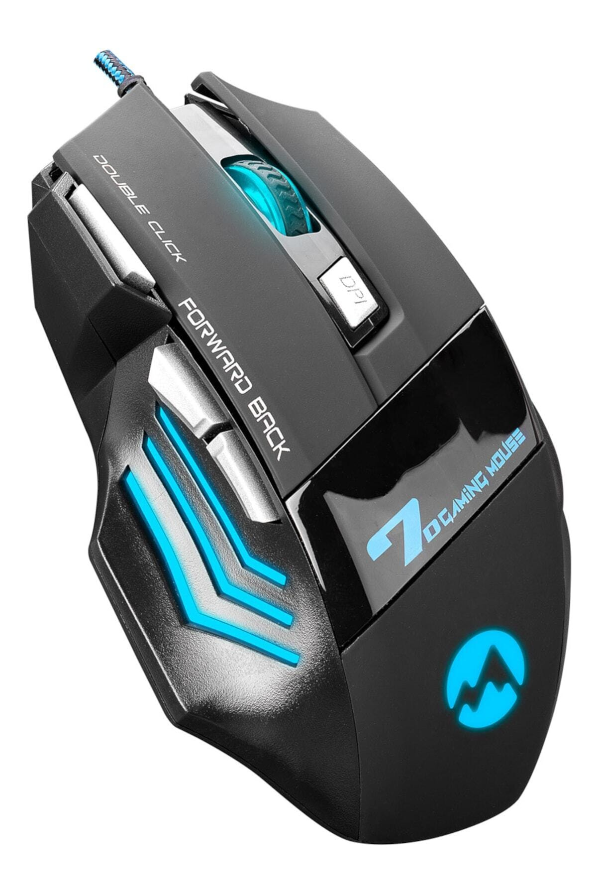 Sm-770 Chopper Usb Siyah Oyun Gaming Oyuncu Mouse