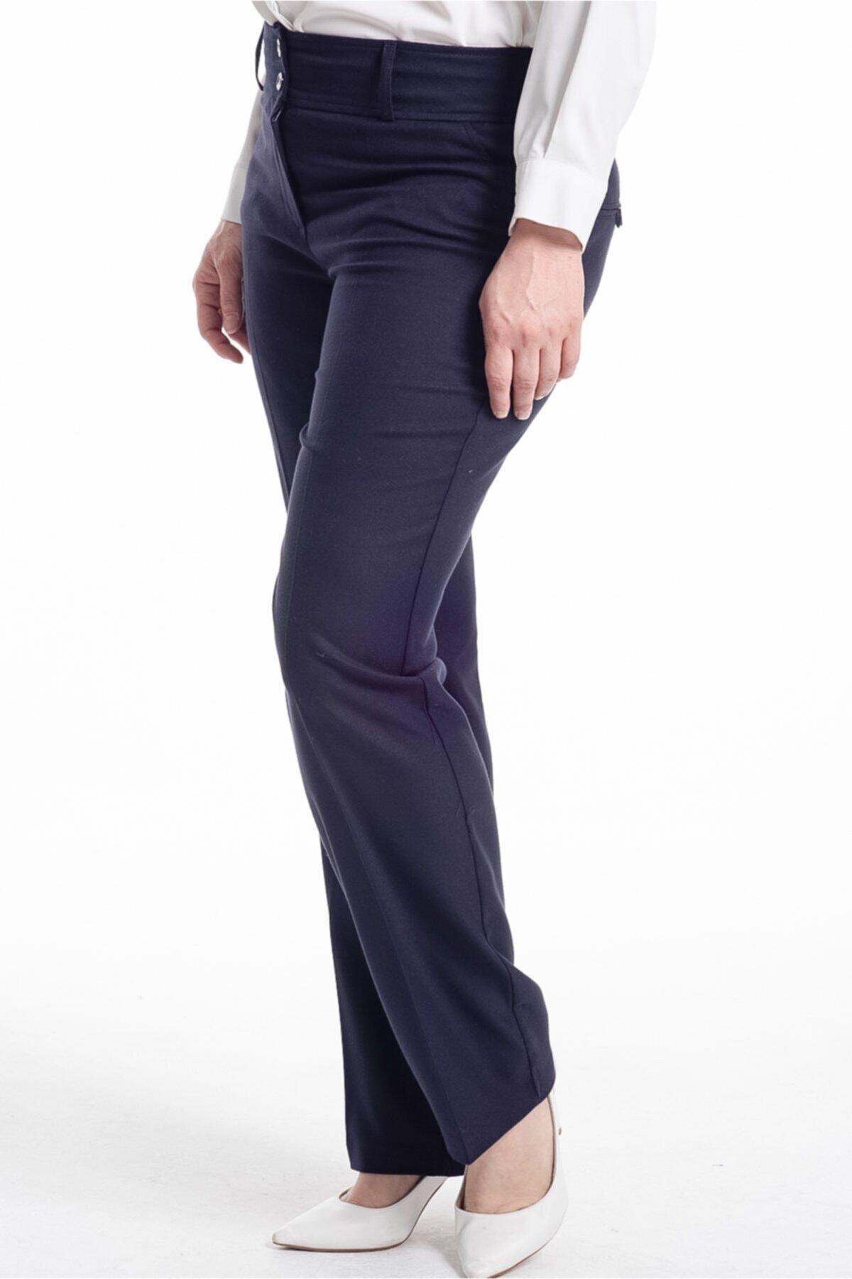 Hanezza Gabardin Kapalı Cep Pantolon