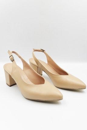 Ten Rengi Topuklu Ayakkabı AYK538