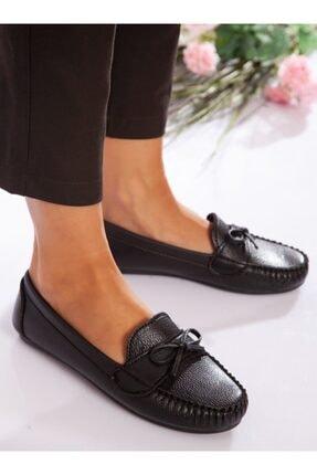 ayakkabıhavuzu Kadın Siyah Günlük Ayakkabı 4