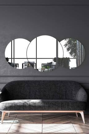 bluecape Marsilya  Antre Hol Koridor Duvar Salon Mutfak Banyo Wc Ofis Çocuk Yatak Odası Set Ayna 140 Cm 2