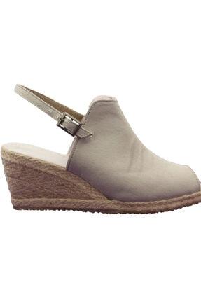 Yazlık Keten Dolgu Topuk Ayakkabı gkc-1111