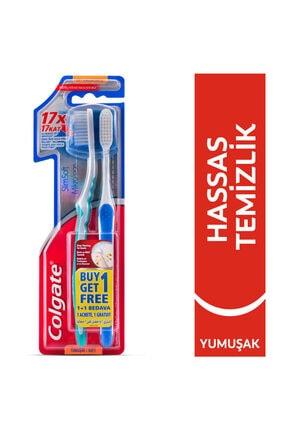 Colgate Mikro İnce Hassas Temizlik Yumuşak Diş Fırçası 1+1 0