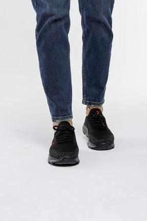 LETOON Unisex Siyah Spor Ayakkabı Teek01 2