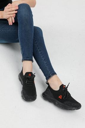 LETOON Unisex Siyah Spor Ayakkabı Teek01 3