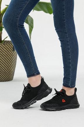 LETOON Unisex Siyah Spor Ayakkabı Teek01 4
