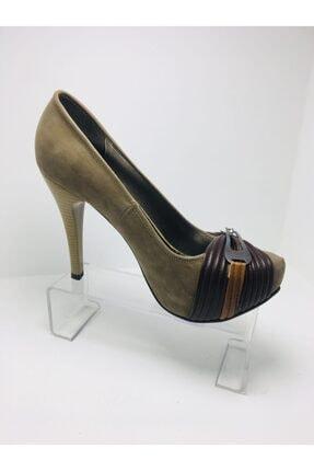 Platform Topuklu Kadın Ayakkabı Puntoo04