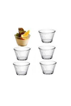 Paşabahçe Puding&karamel Cam Kase 6 Lı Set 2