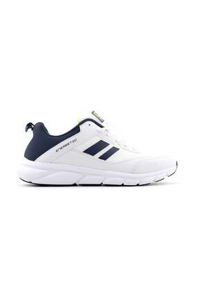 Jump 24718 Beyaz - Lacivert - Neon Yeşil Erkek Spor Ayakkabı 0