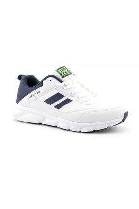 Jump 24718 Beyaz - Lacivert - Neon Yeşil Erkek Spor Ayakkabı 1
