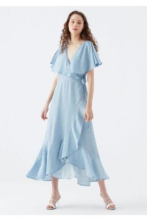 Mavi Anvelop Elbise 1