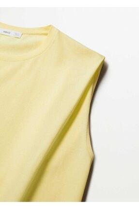 Mango Kadın Organik Pamuklu T-shirt 4