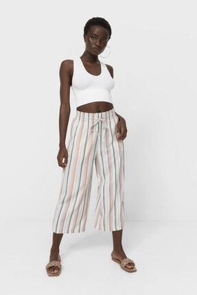 Picture of Desenli Culotte Pantolon