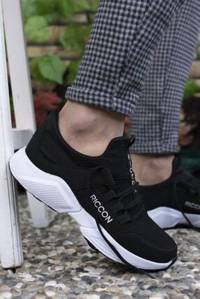 Riccon Unisex Siyah Beyaz  Sneaker 0