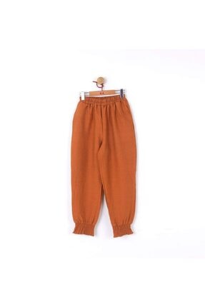 Picture of 56064 Kız Çocuk Kiremit Maya Pantolon