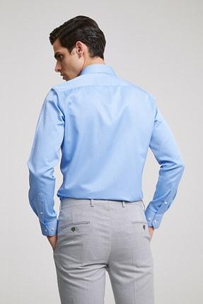 D'S Damat Erkek Slim Fit Gömlek Mavi 2HF02ORT4185_703 2