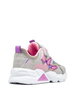 Alessio Kız Çocuk Yazlık Sneaker 4
