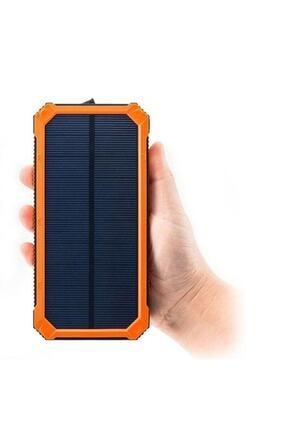Angel Eye 12.000 Mah Solar Güneş Enerjili Powerbank Kamp Tipi Led El Feneri 2