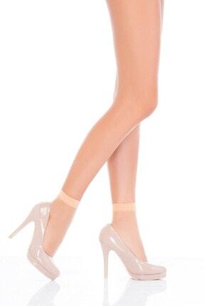 6 Adet Fit 15 Bayan Soket Parlak Çorap resmi