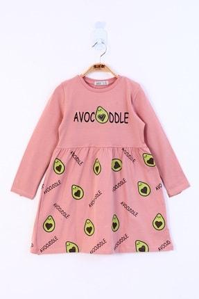 Picture of Kız Çocuk Avocuddle Baskılı Elbise