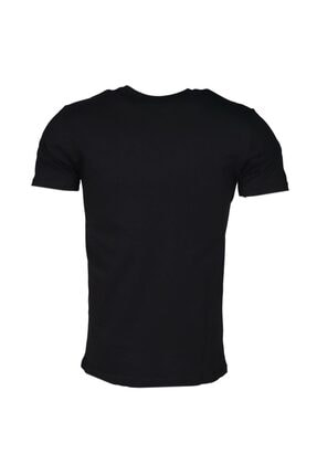 HUMMEL Rodney Siyah Kısa Kollu Erkek T-Shirt 2