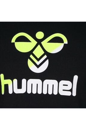HUMMEL Rodney Siyah Kısa Kollu Erkek T-Shirt 3