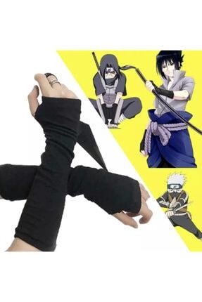 تصویر از Anime Naruto Düz Siyah Ikili Kollu
