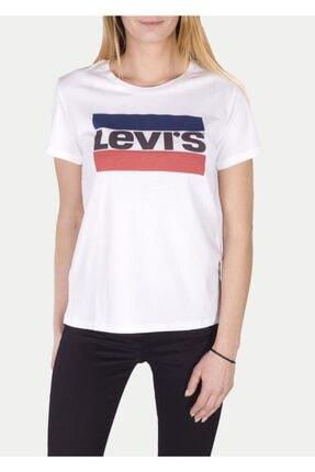 Levi's Kadın Beyaz T-shirt 17369-0297 0