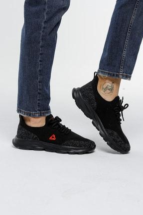 LETOON Unisex Siyah Spor Ayakkabı Teek01 0