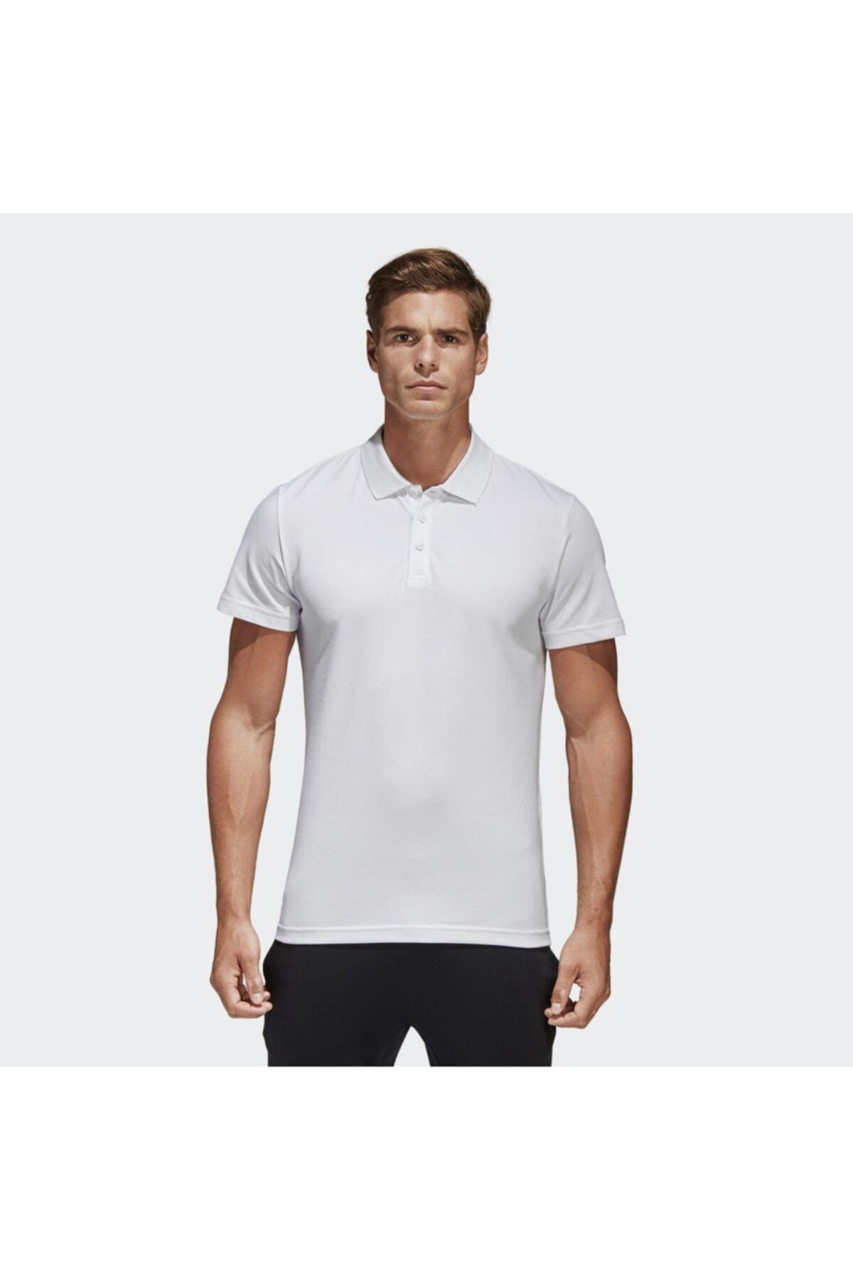 ESS BASE POLO Beyaz Erkek T-Shirt 101015821