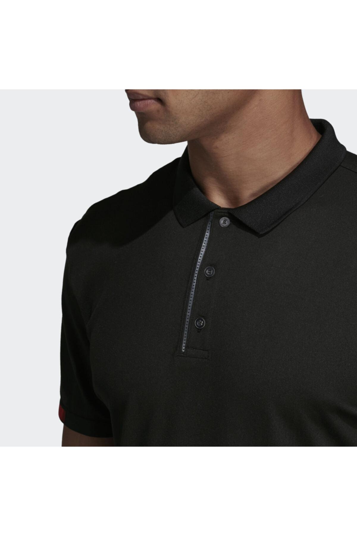 adidas Erkek Siyah Matchcode Polo Tişört