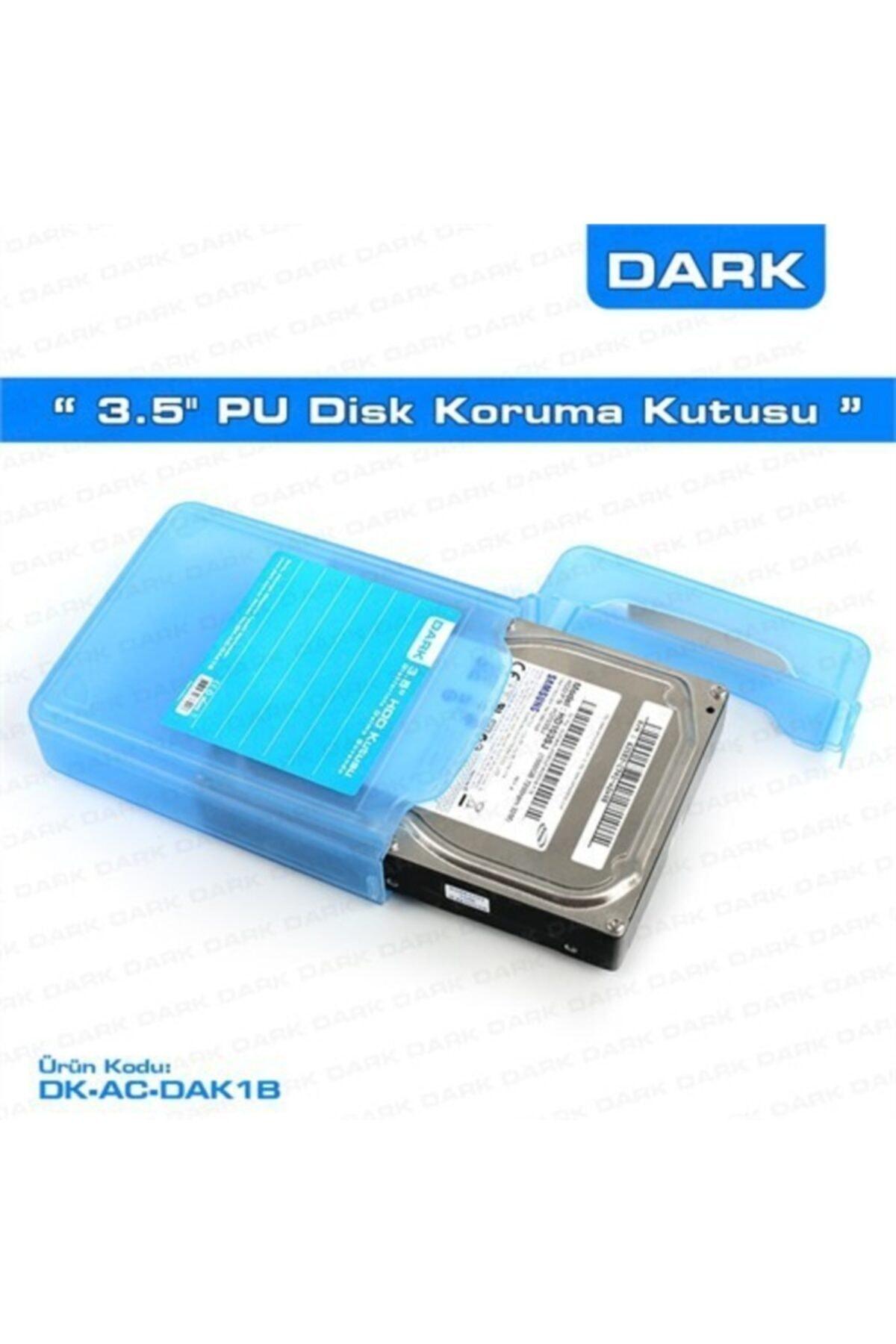 """Dark 3.5"""" Disk Koruma Ve Taşıma Kutusu"""