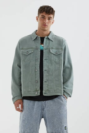 Picture of Basic Comfort Fit Denim Ceket
